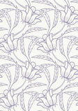 Seamless floral pattern. Vector illustration. Layers are managed and arranged for easy editing Royalty Free Stock Photo