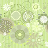 Seamless floral  pattern. Vector illustration of a seamless floral  pattern Royalty Free Stock Photo