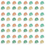 Seamless floral pattern. Vector illustration. Seamless floral pattern,backgrounds, flower. Vector illustration Royalty Free Stock Image