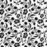 Seamless floral pattern. Vector illustration. Royalty Free Stock Photo