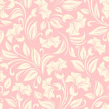 Seamless floral pattern. Vector illustration. Royalty Free Stock Images