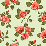 Seamless Floral  pattern 7 Stock Images