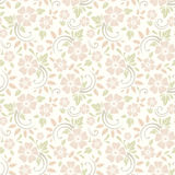 Seamless floral pattern. Vector illustration. Stock Photos