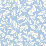 Seamless floral pattern. Vector illustration. Royalty Free Stock Photos