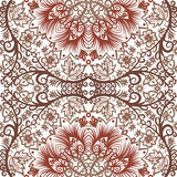Seamless floral pattern. Vector seamless vintage floral pattern background Royalty Free Stock Photo