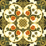 Seamless floral pattern. Vector seamless vintage floral pattern background Royalty Free Stock Photos