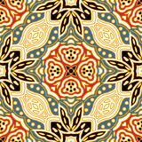 Seamless floral pattern. Vector seamless vintage floral pattern background Stock Photo