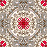 Seamless floral pattern. Vector seamless vintage floral pattern background Stock Photos