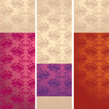 Seamless floral pattern4 Stock Photos