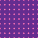 Seamless floral pattern. Seamless violet pattern with pink flowers Royalty Free Stock Photos