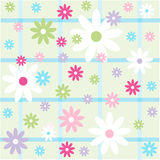 Seamless floral pattern, wallpaper Royalty Free Stock Photography