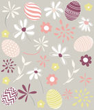 Seamless floral pattern, wallpaper Royalty Free Stock Photo