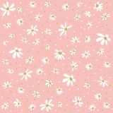 Seamless floral pattern, wallpaper Stock Image