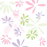 Seamless floral pattern, wallpaper Stock Photos