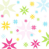 Seamless floral pattern, wallpaper Royalty Free Stock Image