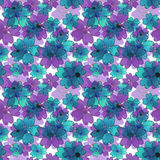 Seamless floral pattern. Wallpaper seamless flower pattern backg Royalty Free Stock Images