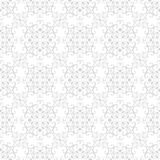 Seamless floral pattern wallpapers in the style of Baroque . Modern illustration.  Stock Images