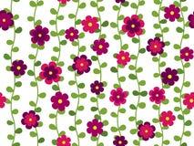 Seamless flower pattern Stock Photography