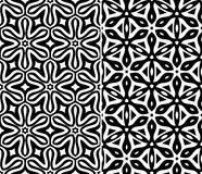 Seamless Floral Patterns Royalty Free Stock Photos
