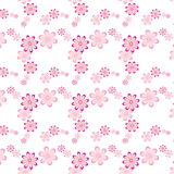 Seamless Floral Patterns Background Royalty Free Stock Photo