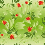 Seamless floral patterns. Royalty Free Stock Photography