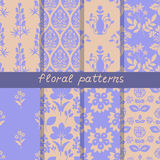 Seamless floral patterns Stock Image