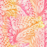 Seamless floral pink gradient pattern Stock Photos