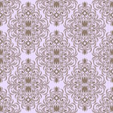 Seamless floral retro Wallpaper for design Stock Photo