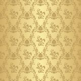 Seamless floral retro Wallpaper for Design. Seamless floral retro Wallpaper for  your Design Stock Photo