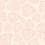 Seamless floral rose vector background Royalty Free Stock Photography
