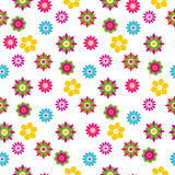 Seamless floral spring pattern Royalty Free Stock Photography