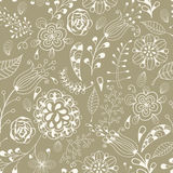 Seamless Floral Summer  Pattern Royalty Free Stock Images