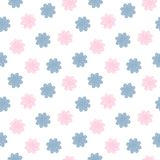 Seamless Floral Sweetness. Stock Images