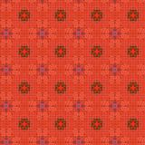 Seamless Floral Textile Pattern. A completely seamless abstract tile able paper pattern royalty free stock image