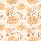 Seamless floral texture Royalty Free Stock Image