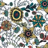 Seamless floral texture Royalty Free Stock Photos