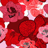Seamless floral texture Stock Images