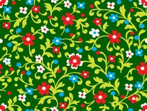 Seamless floral texture. Seamless floral background with flowers. Vector drawing vector illustration