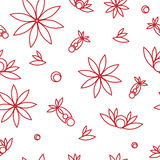 Seamless floral texture Royalty Free Stock Photo