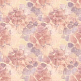 Seamless floral textured pattern. In peachy colors Stock Photography