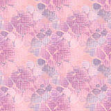 Seamless floral textured pattern in pink Stock Image