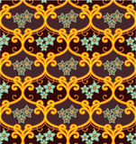 Seamless Floral Tile Royalty Free Stock Photos