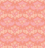 Seamless Floral Tile Royalty Free Stock Photo