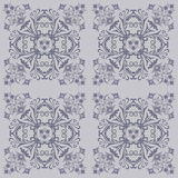 Seamless floral tile pattern Royalty Free Stock Photography