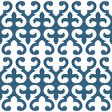 Seamless floral tiling pattern Royalty Free Stock Photos