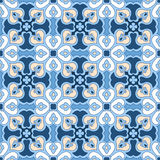 Seamless floral tiling pattern Stock Images