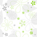 Seamless floral vector pattern. Seamless abstract floral vector pattern Royalty Free Stock Image