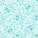 Seamless floral vector pattern for disign. Wallpaper stock illustration