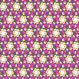 Seamless floral vectror repeat background Stock Photos