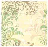 Seamless floral vintage background Stock Photo